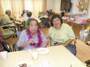 【福祉館恵海 珊瑚ユニットにて誕生会にて】