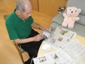 『福祉館恵海:うみかぜ:海ほたるにて兜を織ってくださいました。