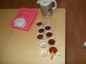 『福祉館恵海:うみかぜ:珊瑚ユニットにて』紅茶会を行いました。①