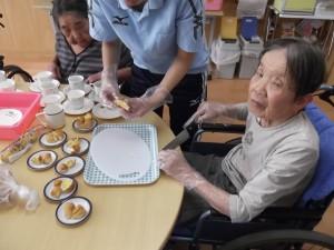 【福祉館恵海:うみかぜ:珊瑚ユニットにて】パンケーキ