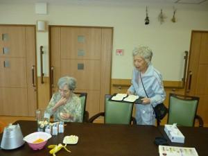 【福祉館恵海:かがやき:グループホームにて】ミックスジュースだったんですね。