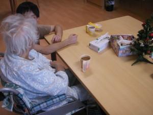 【福祉館恵海:うみかぜ:海ほたるにて】コーヒータイム
