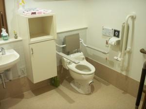 【福祉館恵海】トイレ内の工夫②