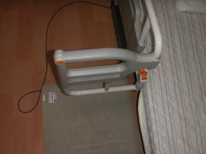【福祉館恵海:施設のベッド】ベッドのL字バーについて。
