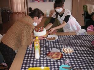 【福祉館恵海:渚ユニット】利用者の方の誕生日会を行いました①