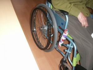 【福祉館恵海:うみかぜ:渚】ブレーキの補助グリップ