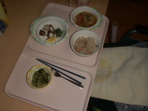 ■ある夕食の一枚■