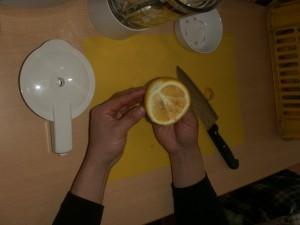 (●^o^●)さっそく、柑橘はるかジュース作り(●^o^●)
