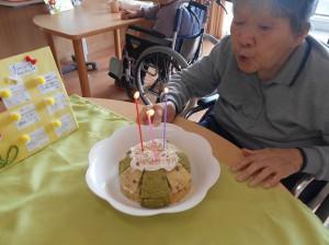 ■お誕生日を迎えられました(^^)