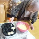 ■GHかがやき■ケーキを作られています(^O^)
